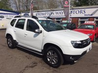 USED 2014 64 DACIA DUSTER 1.5 LAUREATE DCI 5d 107 BHP 0% FINANCE AVAILABLE PLEASE CALL 01204 317705