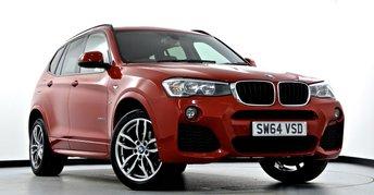2014 BMW X3 2.0 20d M Sport xDrive 5dr Auto £24495.00