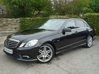 USED 2009 MERCEDES-BENZ E CLASS 3.0 E350 CDI BLUEEFFICIENCY SPORT 4d AUTO 231 BHP ** FSH + PARKING AID + HEATED LEATHER **