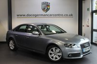 USED 2010 10 AUDI A4 2.0 TDI SE 4DR 143 BHP + FULL AUDI SERVICE HISTORY + 1 OWNER FROM NEW + BLUETOOTH + CRUISE CONTROL + PARKING SENSORS + 17 INCH ALLOY WHEELS +