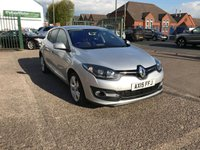 USED 2015 15 RENAULT MEGANE 1.5 DYNAMIQUE TOMTOM ENERGY DCI S/S 5d 110 BHP 1 Former Keeper, Sat-Nav, Bluetooth, Diesel, Zero £££ Road Tax