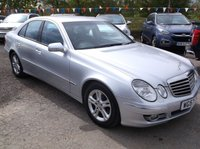 USED 2008 57 MERCEDES-BENZ E CLASS 2.1 E220 CDI AVANTGARDE 4d AUTO 168 BHP DIESEL / AUTOMATIC FAMILY CAR IN EXCELLENT CONDITION WITH SERVICE HISTORY !!