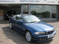 USED 2000 X BMW 3 SERIES 3.0 330CI 2d AUTO 228 BHP CONVERTIBLE Beautiful condition throughout Auto