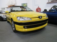 USED 1997 PEUGEOT 306 2.0 CABRIOLET 16V 2d 131 BHP