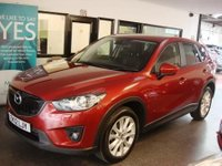 USED 2012 12 MAZDA CX-5 2.2 D SPORT NAV 5d 173 BHP Two lady owners, full service history, new front discs & pads, 3 new tyres, June 2019 Mot