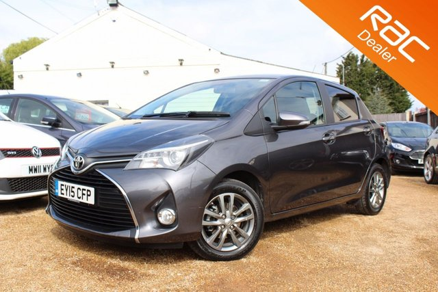 View our 2015 15 TOYOTA YARIS 1.3 VVT-I ICON M-DRIVE S 5d AUTO 99 BHP