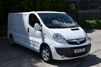USED 2014 14 VAUXHALL VIVARO 2.0 2900 CDTI SPORTIVE  5d 113 BHP LWB DIESEL MANUAL VAN  1 OWNER,AIR CON,EURO 5 ENGINE,SIX SPEED GEARBOX