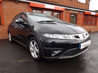 USED 2009 59 HONDA CIVIC 1.8 I-VTEC SE 5d  MOT 5/18 - FSH - GOOD SPEC