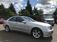 USED 2006 06 MERCEDES-BENZ C CLASS 2.1 CDI C220  AVANTGARDE SE 4d 150 BHP , VERY CLEAN WITH HISTORY  NO DEPOSIT FINANCE ARRANGED, APPLY HERE NOW