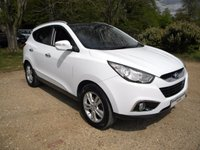 USED 2011 11 HYUNDAI IX35 1.7 PREMIUM CRDI 5d 114 BHP Full Leather Heated Seats, SatNav, Sun Roof, High MPG