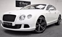 USED 2012 61 BENTLEY CONTINENTAL 6.0 GT 2d AUTO 567 BHP FULL BENTLEY HISTORY-GTS STYLE