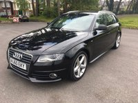 USED 2010 60 AUDI A4 2.0 AVANT TDI S LINE DPF 5d 141 BHP 2 OWNER S LINE ESTATE WITH FSH