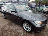 USED 2008 58 BMW 3 SERIES 2.0 318I EDITION SE 4d 141 BHP BLACK LEATHER INTERIOR, FULL SERVICE HISTORY, AIRCON, CD