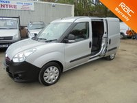 USED 2013 13 VAUXHALL COMBO VAN *RARE LWB  CREWCAB*LOW MILEAGE*IMMACULATE CONDITION*1.6 2300 L2H1 CDTI S/S 1d 105 BHP