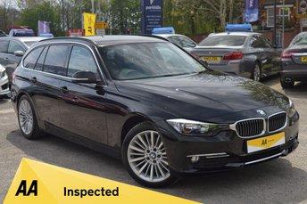 2013 BMW 3 SERIES 2.0 320D LUXURY TOURING 5d 180 BHP £10970.00