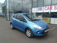 USED 2009 59 FORD KA 1.2 STUDIO 3d 69 BHP £0 DEPOSIT, LOW RATE FINANCE ANYONE, DRIVE AWAY TODAY!!