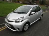 "USED 2012 12 TOYOTA AYGO 1.0 VVT-i Ice 5dr SERVICE HISTORY - 46,000 GUARANTEED MILES - ""0"" ROAD TAX - EXCELLENT MPG"