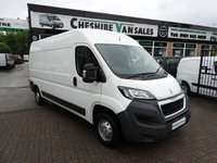 USED 2016 16 PEUGEOT BOXER 2.0 BLUE HDI 335 L3H2 PROFESSIONAL P/V 1d 130 BHP SAME DAY VAN FINANCE OPEN 7 DAYS PX WELCOME