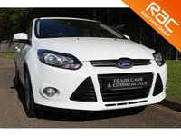 USED 2013 13 FORD FOCUS 1.6 ZETEC TDCI 5d 113 BHP A STUNNING ONE OWNER CAR WITH A FULL HISTORY AND LOW RUNNING COSTS!!!