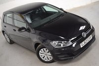 USED 2013 63 VOLKSWAGEN GOLF 1.6 S TDI BLUEMOTION TECHNOLOGY 5d 103 BHP