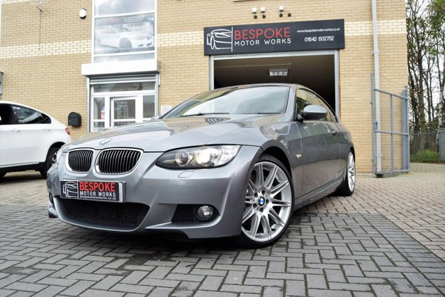 2009 09 BMW 3 SERIES 335D M SPORT HIGHLINE AUTOMATIC COUPE