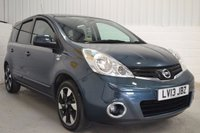 USED 2013 13 NISSAN NOTE 1.4 N-TEC PLUS 5d 88 BHP