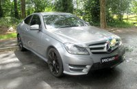 USED 2012 62 MERCEDES-BENZ C CLASS 2.1 C220 CDI BLUEEFFICIENCY AMG SPORT 2d AUTO 170 BHP