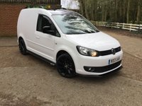 USED 2013 13 VOLKSWAGEN CADDY 1.6 C20 TDI  102  BHP BLACK ROOF, CARBON BODYKIT,