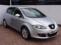 USED 2008 08 SEAT ALTEA 2.0 STYLANCE TDI 5d 138 BHP MOT TILL MAY 2018 + EIGHT SERVICES ON RECORD + CLEAN CAR INSIDE AND OUT + HPI CLEAR +
