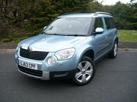 USED 2013 63 SKODA YETI 2.0 SE TDI CR 5d 109 BHP Summer Sale Now On!! Save £900, ONLY Two Owners, JUST 31,000 Miles with Full Service History.