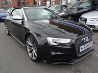 USED 2014 AUDI A5 4.2 RS5 FSI QUATTRO 2d AUTO 444 BHP PANTHER BLACK PEARL/CREAM LEATHER
