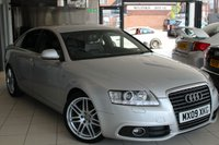 USED 2009 09 AUDI A6 2.0 TDI LE MANS 4DR 168 BHP FULL AUDI SERVICE JHISTORY + 0% FINANCE AVAILABLE T&C'S APPLY + SAT NAV + FULL LEATHER SEATS + BLUETOOTH + 19 INCH ALLOYS + HEATED SEATS + CRUISE CONTROL + REAR PARKING SENSORS