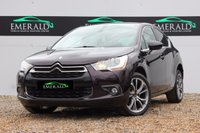 """USED 2014 14 CITROEN DS4 1.6 E-HDI AIRDREAM DSTYLE 5d 115 BHP **£0 DEPOSIT FINANCE AVAILABLE**SECURE WITH A £99 FULLY REFUNDABLE DEPOSIT** DENON SOUND, HALF LEATHER, DAB, BLUETOOTH, AUX PORT, REVERSE SENSORS, CRUISE CONTROL, 18"""" ALLOYS, FULL HISTORY"""