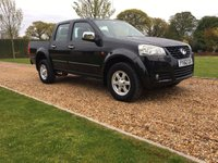 USED 2013 62 GREAT WALL STEED 2.0 TD S 4X4 DCB 4d 141 BHP HEATED LEATHER, PARK ASSIST