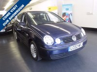 USED 2002 02 VOLKSWAGEN POLO 1.4 SE 5d 74 BHP VERY LOW MILES, CHEAP TO INSURE