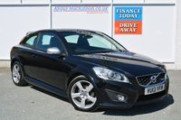 USED 2013 13 VOLVO C30 2.0 R-DESIGN LUX 3d 143 BHP FULL LEATHER & HEATED SEATS