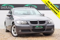 USED 2008 58 BMW 3 SERIES 2.0 320D SE 4d 174 BHP £0 DEPOSIT FINANCE AVAILABLE, SECURE WITH A £99 FULLY REFUNDABLE DEPOSIT, FULL SERVICE HSITORY, FULL MOT, LOW MILEAGE, FULL LEATHER INTERIOR, REVERSE PARKING SENSORS, CRUISE CONTROL