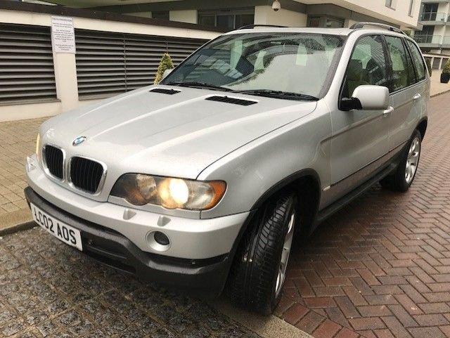 2002 02 BMW X5 3.0 SPORT 24V 5d AUTO 228 BHP