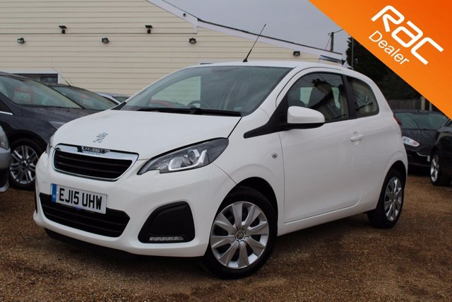 View our 2015 15 PEUGEOT 108 1.0 ACTIVE 3d 68 BHP