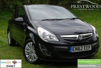 USED 2013 62 VAUXHALL CORSA 1.2 ENERGY [AC] 3 Door Hatchback [83 BHP]