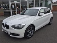 USED 2014 64 BMW 1 SERIES 1.6 116I SPORT 5 DOOR