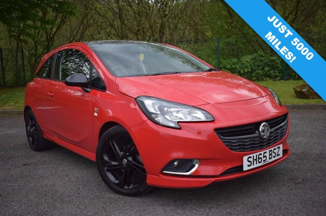 2015 65 VAUXHALL CORSA 1.4 LIMITED EDITION 3d 89 BHP