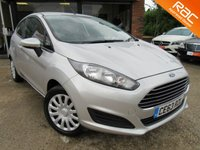 USED 2014 63 FORD FIESTA 1.2 STYLE 3d 59 BHP ONE PRIVATE OWNER, AIR CONDITIONING, RAC INSPECTED, FULL SERVICE HISTORY 3 STAMPS, SPARE KEY
