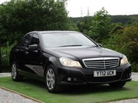 USED 2012 12 MERCEDES-BENZ C CLASS 2.1 C220 CDI BLUEEFFICIENCY SE 4d AUTO 168 BHP
