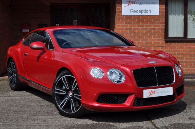 2012 62 BENTLEY CONTINENTAL 4.0 GT V8 2d AUTO 500 BHP MULLINER DRIVING SPECIFICATION