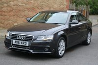 USED 2011 61 AUDI A4 2.0 TDI SE 4d AUTO 141 BHP CVT Automatic -- Great condition in and out-- Full Audi Service History --
