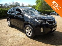 USED 2014 64 KIA SORENTO 2.2 CRDI KX-2 SAT NAV 5d 194 BHP Leather Seats. Sat Nav, Reversing Camera