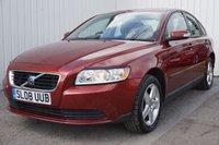 2008 VOLVO S40 1.6 S 4d 100 BHP £3495.00
