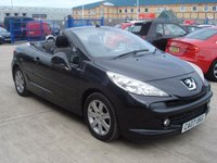 USED 2007 07 PEUGEOT 207 1.6 SPORT COUPE CABRIOLET 2d 118 BHP MOT SERVICE WARRANTY FINANCE