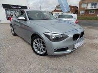2011 BMW 1 SERIES 2.0 118D SE 5d 141 BHP £SOLD